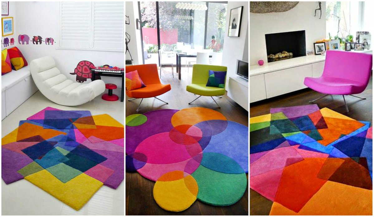 Turning Me On Today These Funky Rugs