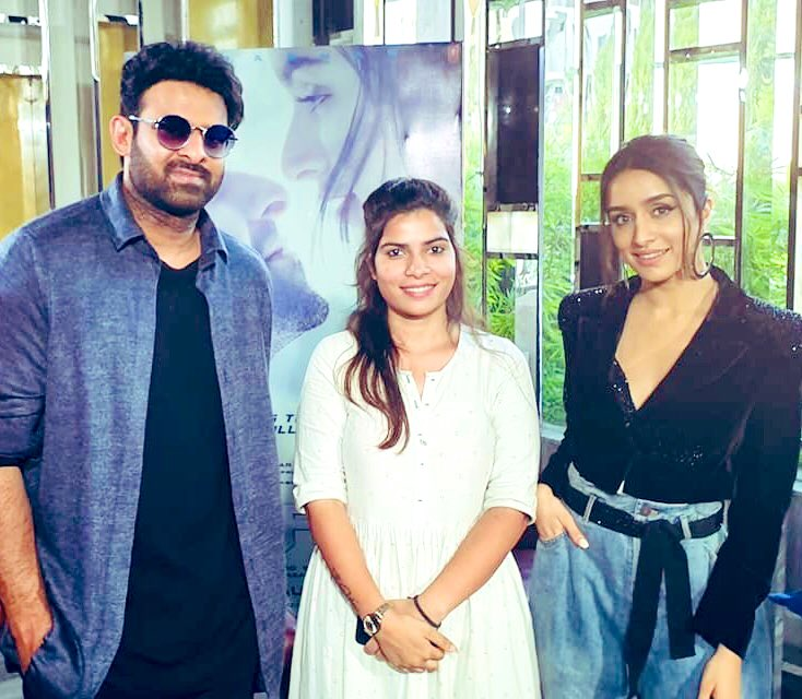 Wow..meeting baahubali #Prabhas & the very gorgeous @ShraddhaKapoor today was like a dream come true..!!  all the very best for #saaho #30AugWithSaaho #BabyWontYouTellMe #SaahoFeverEverywhere #SaahoMania #SaahoStorm<br>http://pic.twitter.com/xGlyA4qBW6
