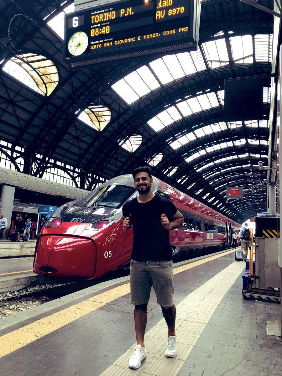 Viajando por EUROPA en tren en primera clase con mi global pass de @Eurail !!! Próximo destino: ZURICH🇨🇭