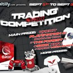 Image for the Tweet beginning: The #Qredit Trading Competition (starting