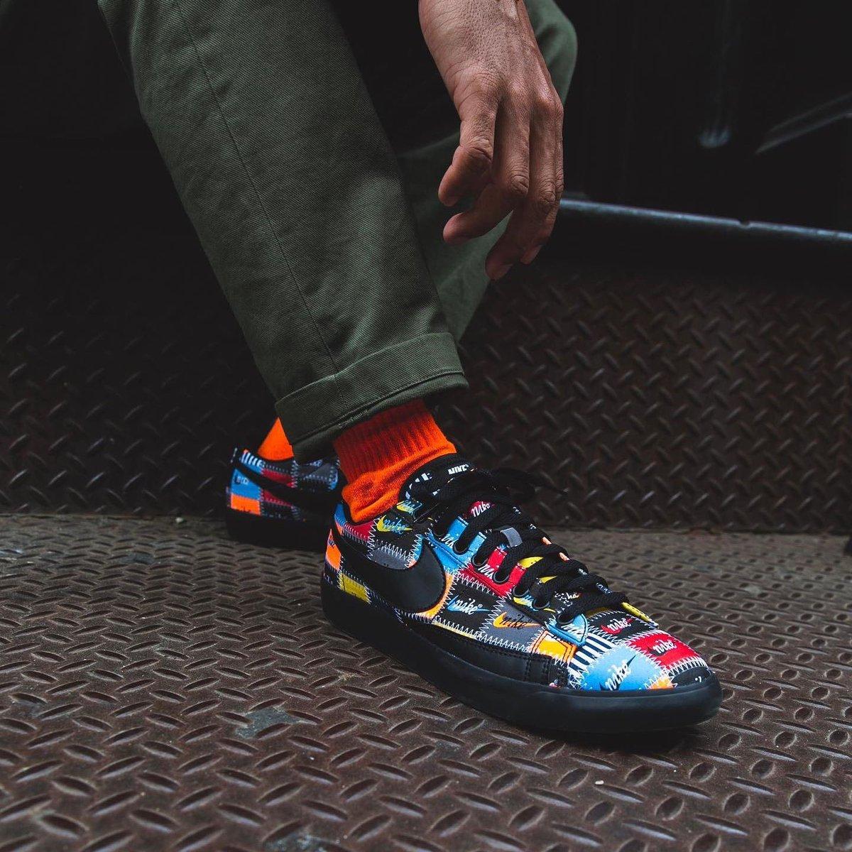 UNDER RETAIL Nike Blazer Low 'Patchwork