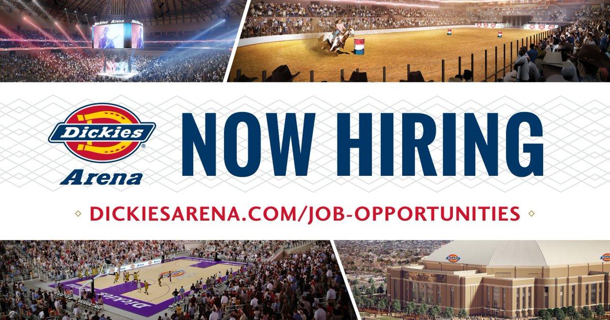 Image result for dickies arena hiring fair