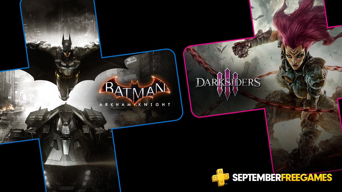 PS Plus Free Games September 2019