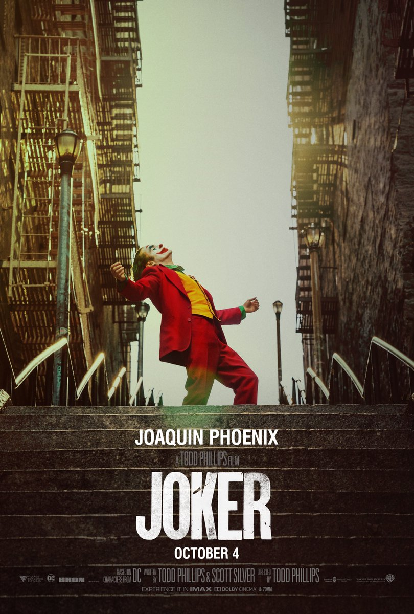 movie 2019 amc AMC Theatres On Twitter NEW JOKERMOVIE POSTER Coming To
