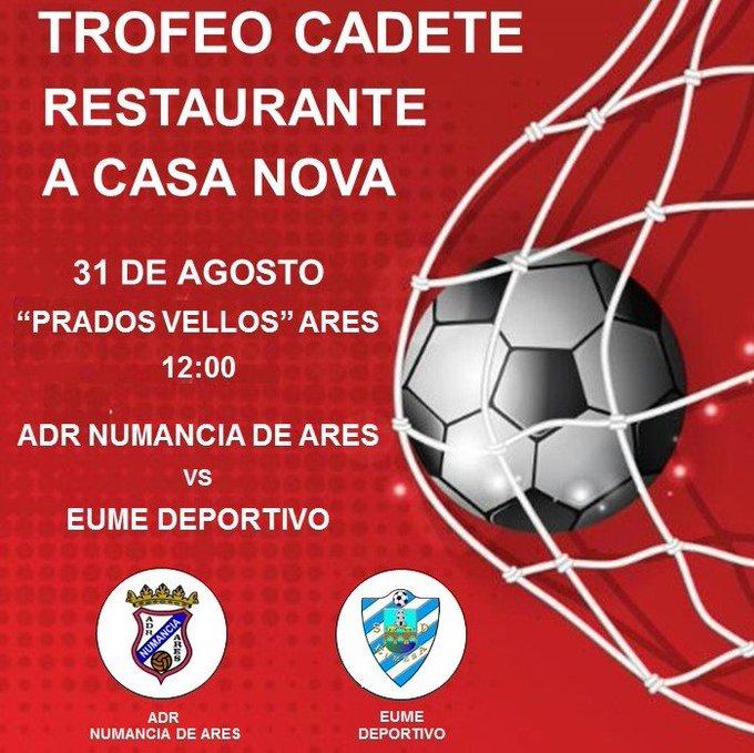 ADR Numancia de Ares. Trofeo Cadete A Casa Nova 2019