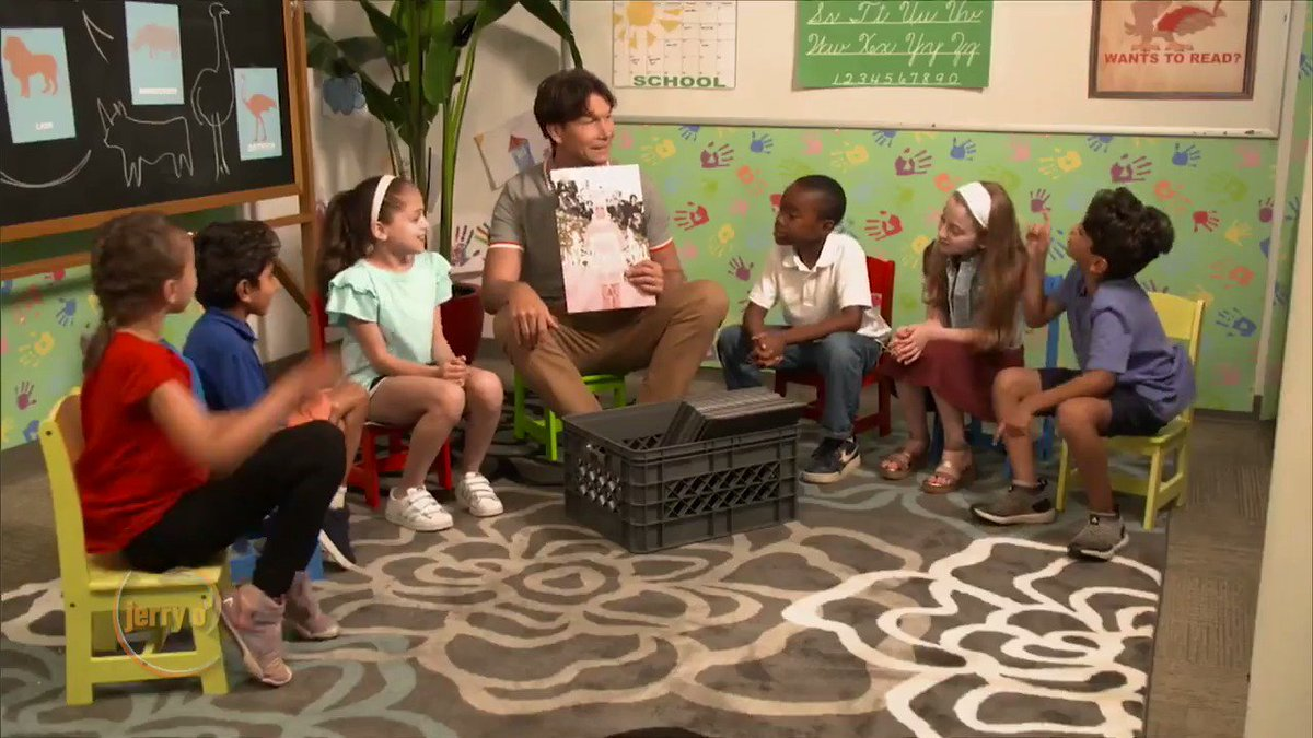 Jerry asks a group of kids about what they think of some of our favorite celebs.