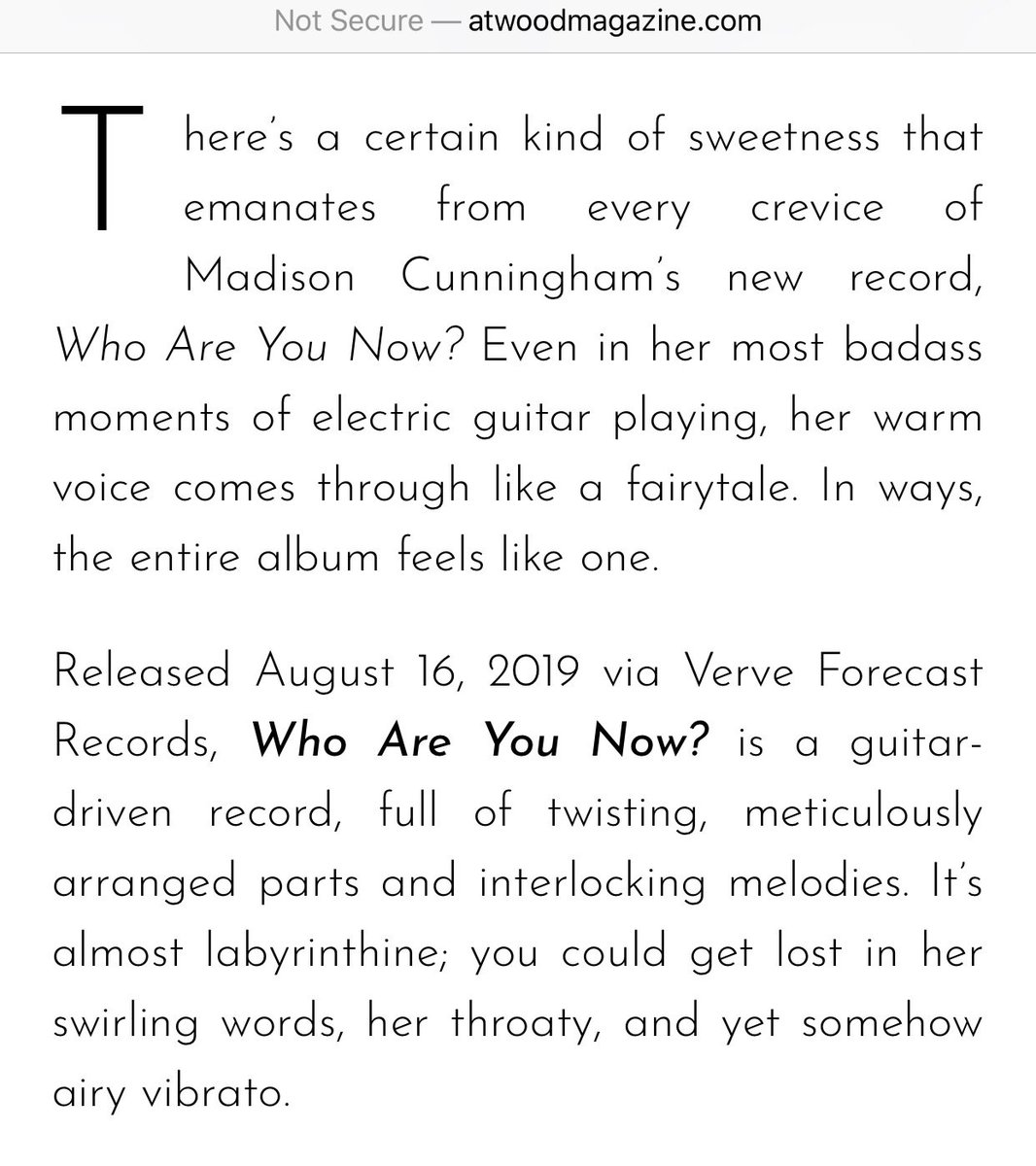 Madison Cunningham (@madisonc_music) | Twitter