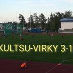 Image for the Tweet beginning: Derbyvoitto ja kolme pistettä.  @virkyofficial #kultsu