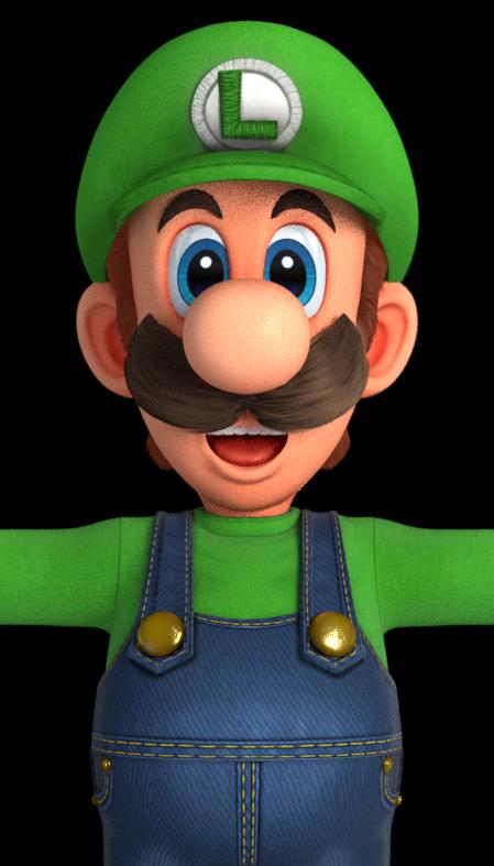 Eman Pelletier On Twitter It S That Luigi Death Stare
