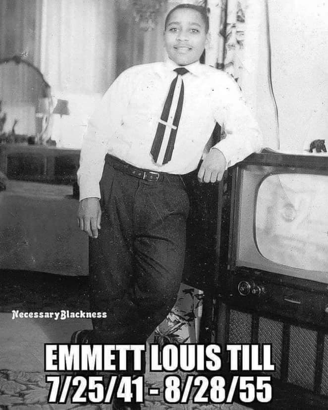 Never forget #EmmettTill. #Reparations are needed for ALL forms of systemic racism.