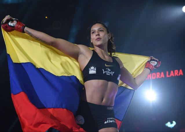 Alejandra 'Azul' Lara doing her part to save the world: https://sports.yahoo.com/bellators-alejandra-lara-is-doing-her-part-to-help-save-the-world-181229577.html… #Bellator225 #AmazonFires #ClimateCrisis #MMA