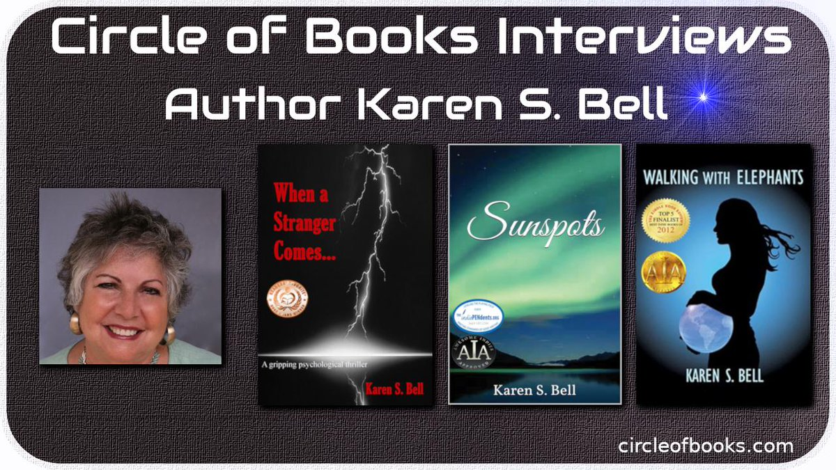 * #interview Interview:Karen S. Bell https://t.co/CxquoMkS6N @KarenSueBell #amreading #asmsg #iartg https://t.co/7ls57yycoH