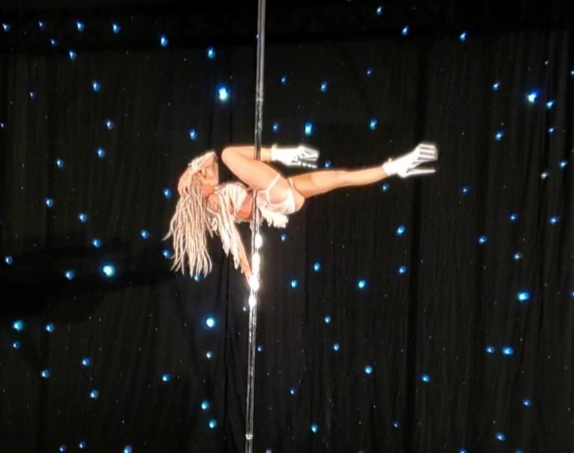 Some images from my Pole Sport Competition. Check out my new New website at: kristagsaxon.com