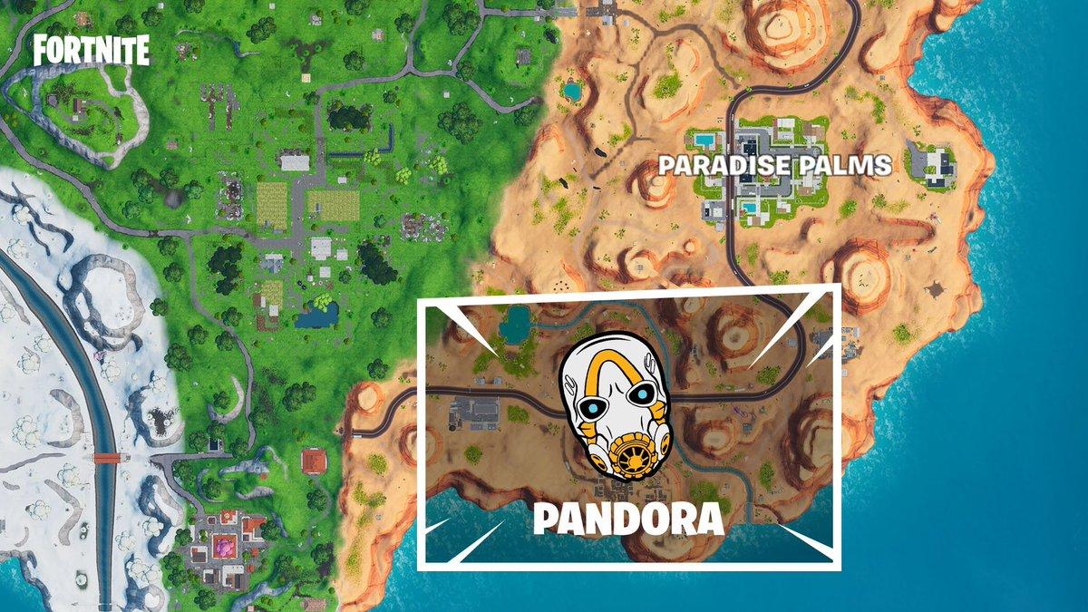 Fortnite On Twitter Cause Some Mayhem In The Pandora Rift