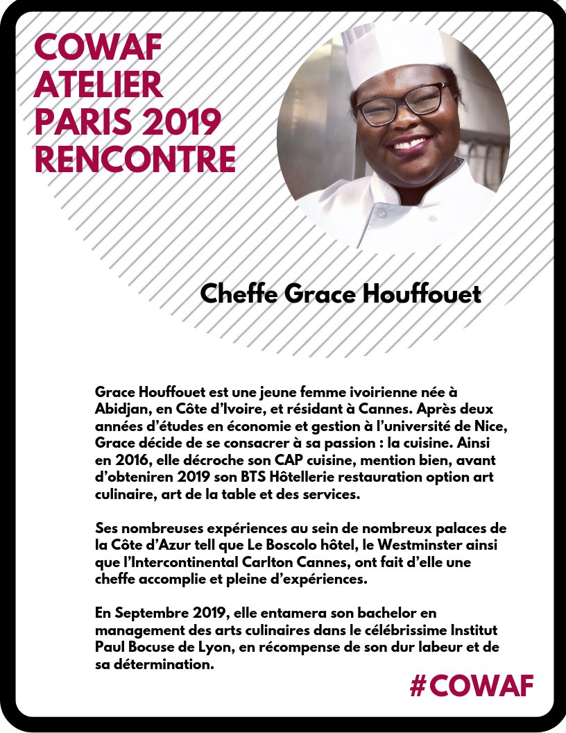 Aziz Agbo Panzo On Twitter Cowaf Paris Chef Atelier
