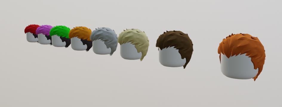 Etralis on Twitter: Catalog needs hair I provide hair (I