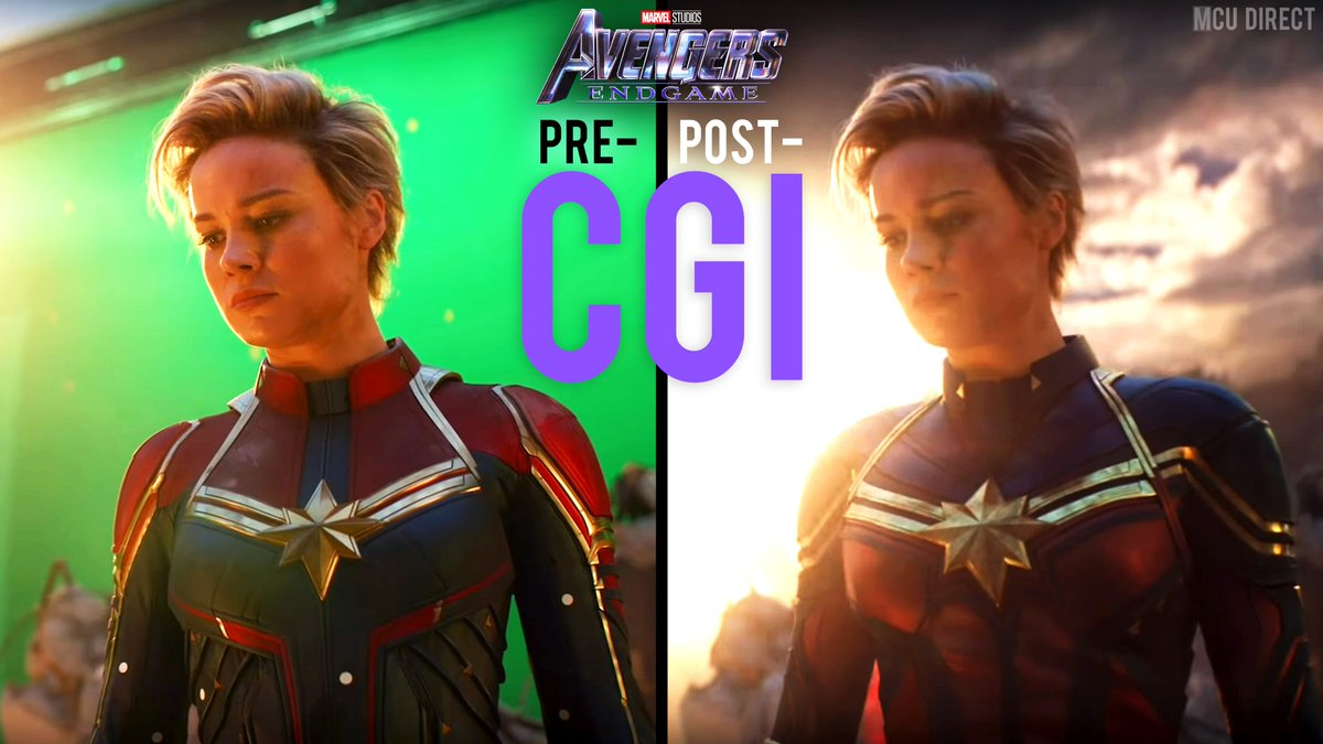 Mcu The Direct On Twitter The Captain Marvel Suit That Brielarson Wore During The Filming Of Avengersendgame S Final Battle Was Digitally Altered For It S Appearance In The Movie Https T Co Bpeada64am It looks a lot like the mcu captain america costumes, which does make sense. captain marvel suit