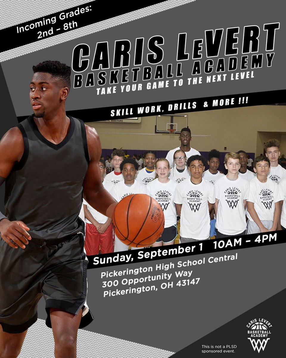 Can't wait to be back in my hometown this weekend for my annual Caris LeVert camp!! See you guys soon! 🙏🏾🏀