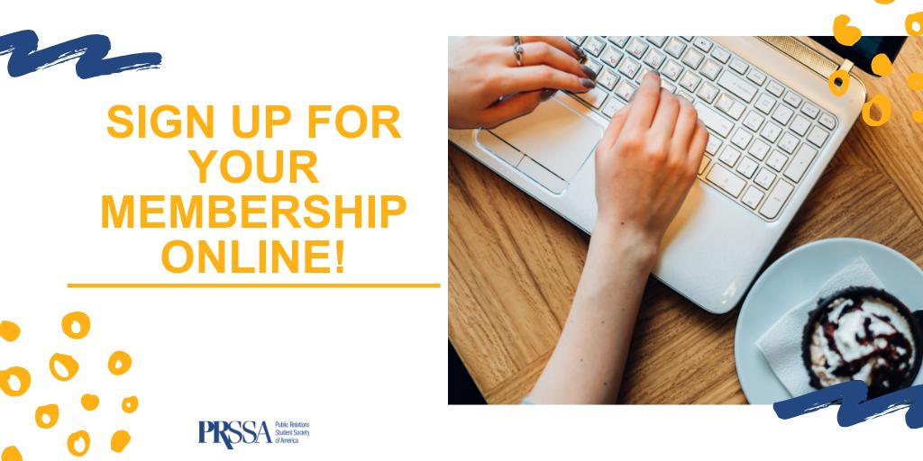 As it turns out, people like doing things on the internet from the comfort of their couch. That's why we're now offering an ONLINE option for signing up new members! Get started at http://joinPRSSA.org .