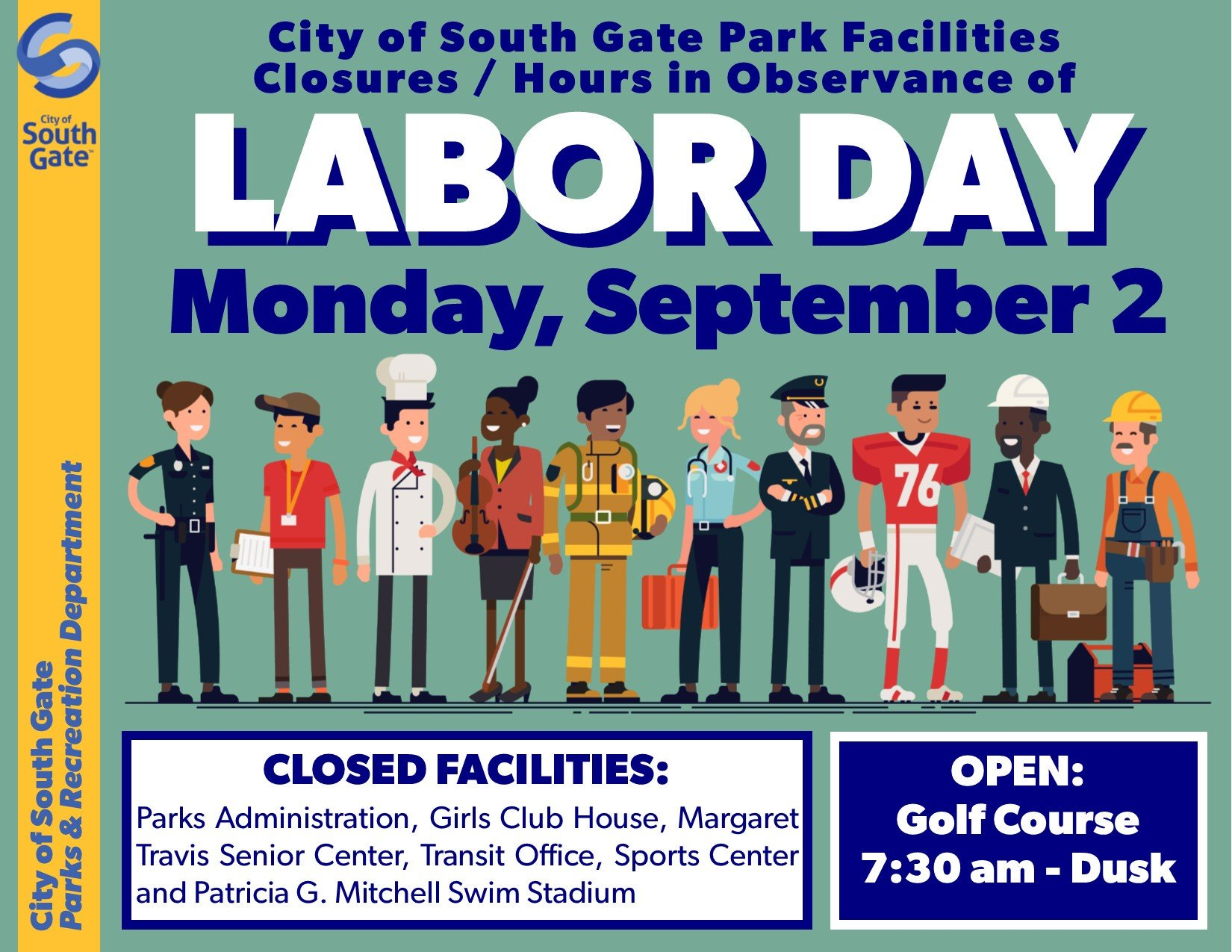 City Of South Gate >> City Of South Gate On Twitter City Hall And Park