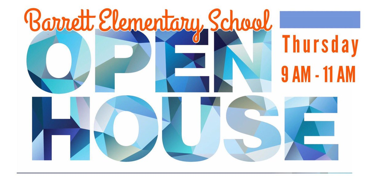 <a target='_blank' href='http://twitter.com/BarrettAPS'>@BarrettAPS</a> parents are you interested in meeting your child's new teacher? Then come to our open house tomorrow morning from 9am -11am.  <a target='_blank' href='http://search.twitter.com/search?q=KWBPride'><a target='_blank' href='https://twitter.com/hashtag/KWBPride?src=hash'>#KWBPride</a></a>   ¿Padres están interesados en conocer al nuevo maestro de su hijos? Entonces llegan mañana a conocerlos de 9-11am. <a target='_blank' href='https://t.co/vOqmIwG2hx'>https://t.co/vOqmIwG2hx</a>