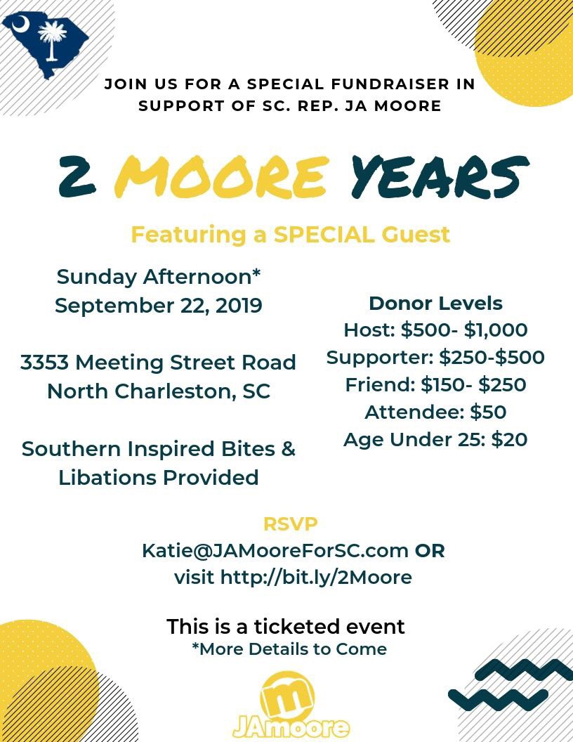 SC Representative JA Moore (@jamooreforsc15) | Twitter