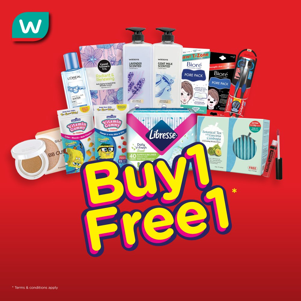 Watsons Malaysia On Twitter T C Apply Limited To 6 Units Per