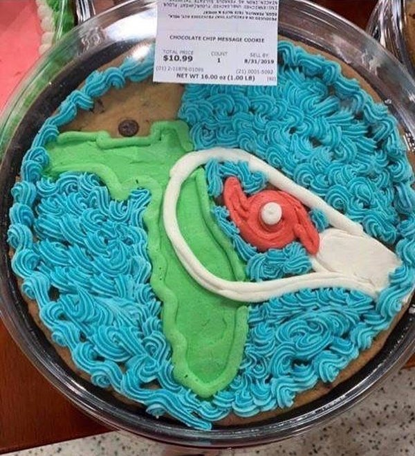 Excellent Darren Rovell On Twitter Someone In The Bakery Department At A Funny Birthday Cards Online Benoljebrpdamsfinfo