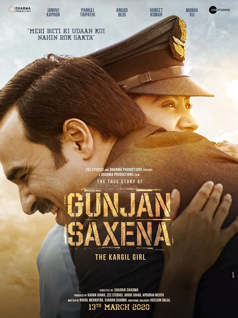 Gunjan Saxena: The Kargil Girl Movie Download in 100MB ESubs