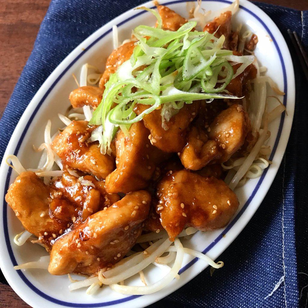 安くてうまい!?胸肉ともやしで作る「鶏のコクうま生姜焼き」の作り方!