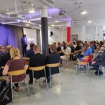 Image for the Tweet beginning: HAMK Design Factory opening ceremony