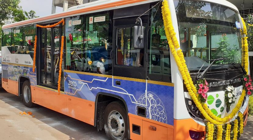 Janmarg gives order for 300 electric buses to Tata Motors for BRTS Ahmedabad, largest so far in the country