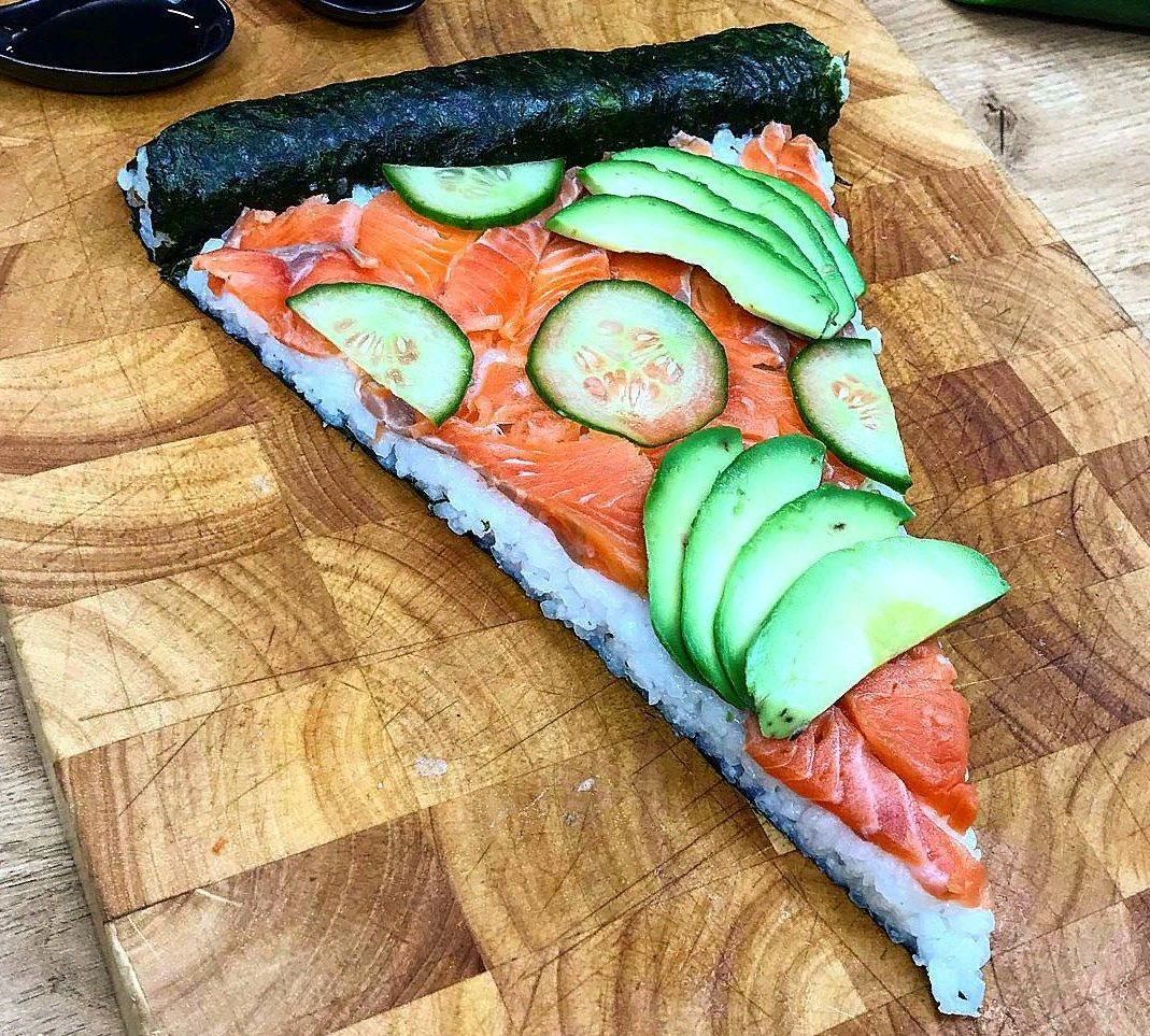 Смешные картинки пицца суши, красивые