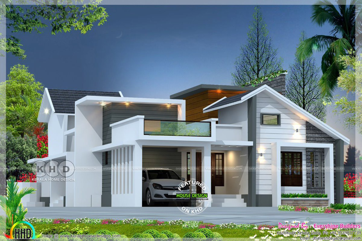 Kerala Home On Twitter Modern Single Floor Home Httpst