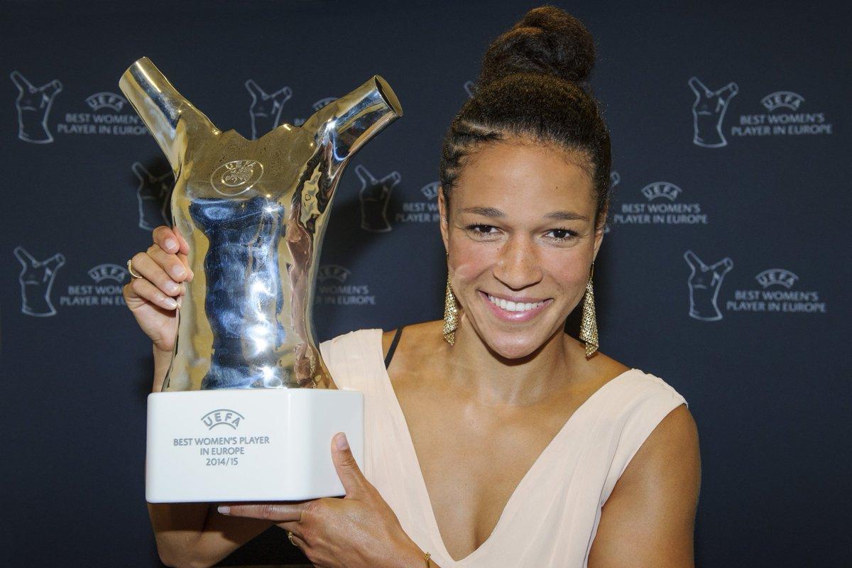 "UEFA Women's Champions League on Twitter: ""UEFA Women's Player of the Year  roll of honour: 2019 winner announced later today🏆 https://t.co/57UstxRBMd  In 2015, Célia Šašić made it three @DFB_Frauen winners in three"