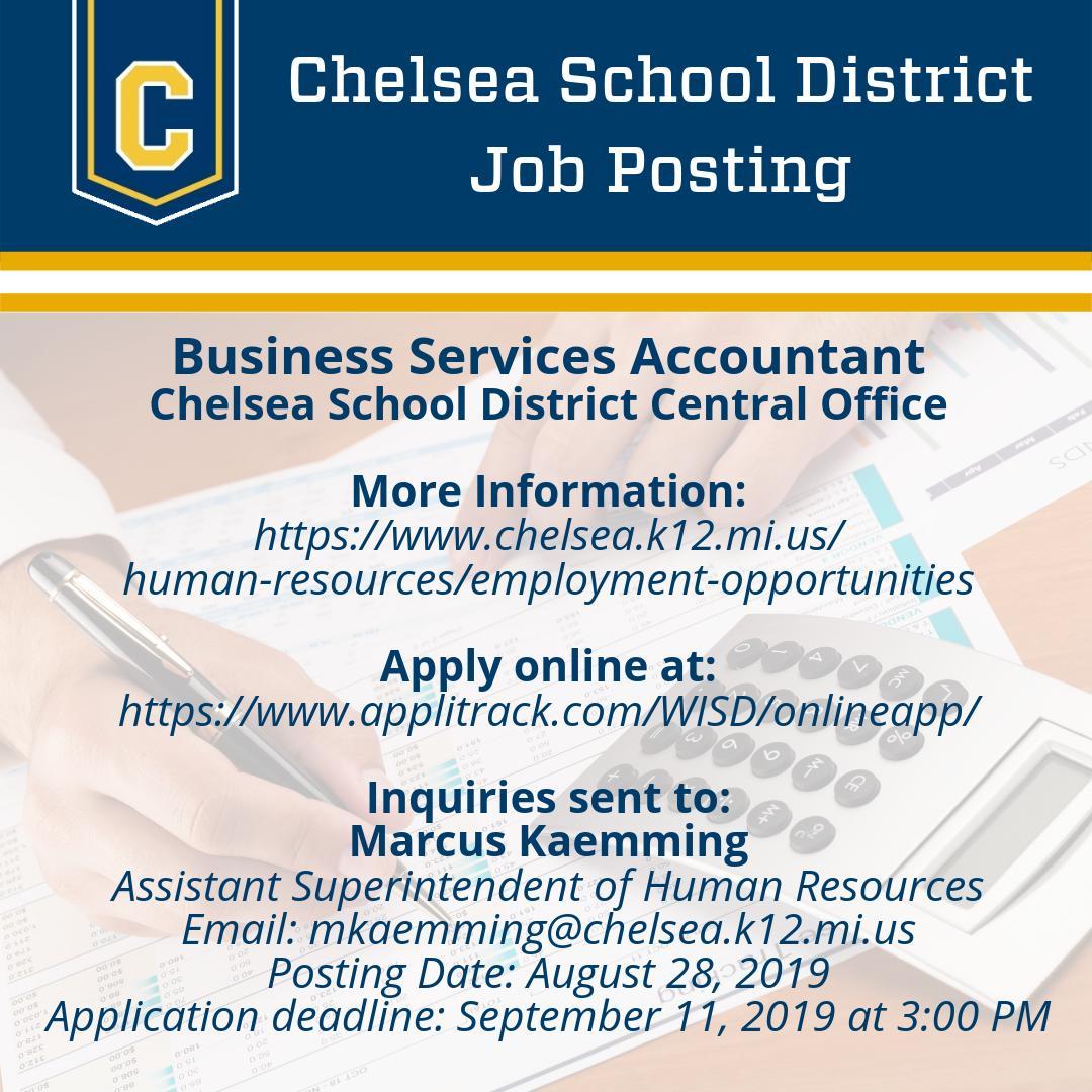 Chelsea School District (@ChelseaSchools) | Twitter
