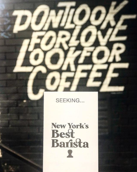 Seeking New Yorks Best Barista! Nominate someone you feel makes a difference in your community through the power of great coffee. For a chance to win ticket to the festival and send your favorite barista to LDN, Milan or Paris submit your choice here bit.ly/2Hx2kel