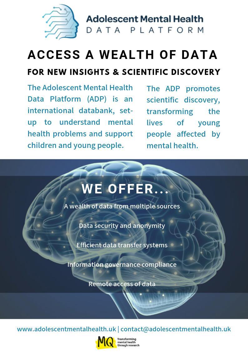 The Adolescent Mental Health Data Platform (@ADPMentalHealth