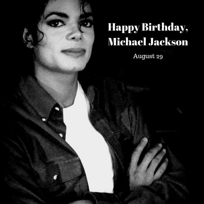 Happy posthumous Birthday to the king of Pop, Michael Jackson, who would have been 62 years today.