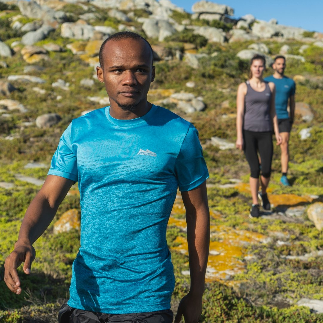Designed for whatever distance you believe you can cover, on any terrain you wish to uncover.  Shop the Ultra Run Tee, now available in 3 colours: https://t.co/aXkM2Jfzy3  #running #adventure #outdoor #gear #capestorm https://t.co/u9Yx6FGW6x