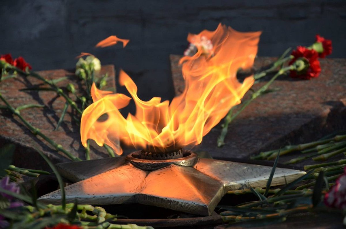 Открытки днем, картинка с вечным огнем анимация