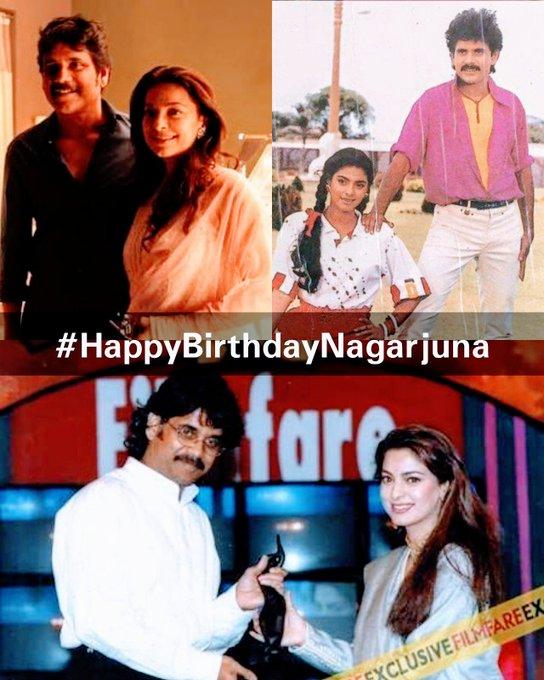 Wishes a very very happy birthday to talented actor Nagarjuna Akkineni ..