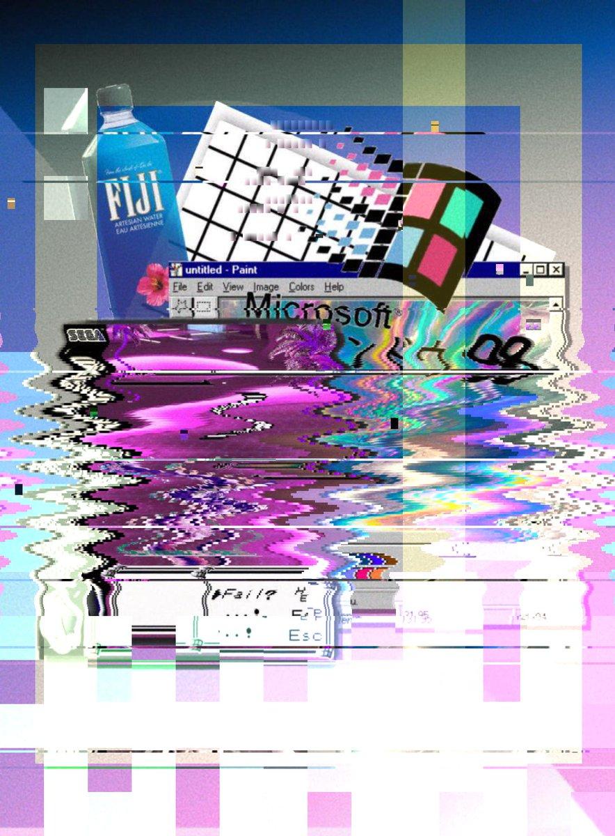 😺🃏 glitchart glitch vaporwave aesthetics digitalartwork nodejs generative Origin img by @Xreizs