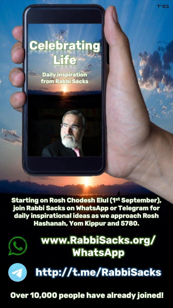 Welcome to the website of Rabbi Lord Jonathan Sacks