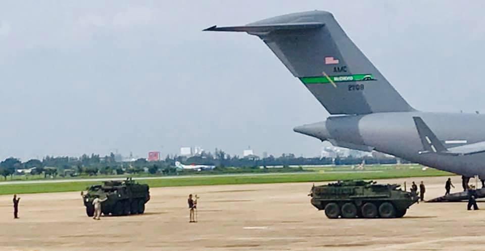 تايلاند لشراء ناقلات جند مدرعه نوع  Stryker معاد تأهيلها من المخزون الامريكي  EDIuifJX4AAiyyp
