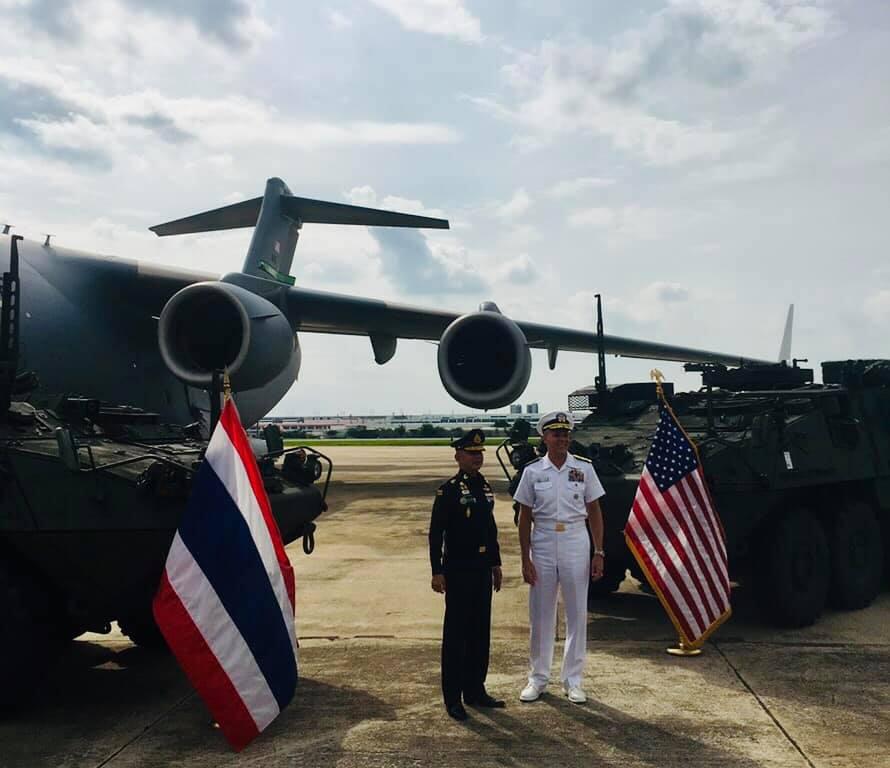 تايلاند لشراء ناقلات جند مدرعه نوع  Stryker معاد تأهيلها من المخزون الامريكي  EDIuifQXYAIOZvh
