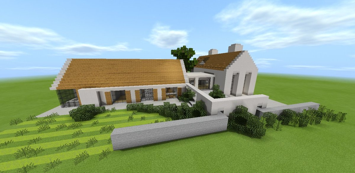 Keralis On Twitter How To Build A Modern Barn Conversion House In Minecraft Https T Co Etaf2msnzs Enjoy Everyone Sorry For The Long Video P