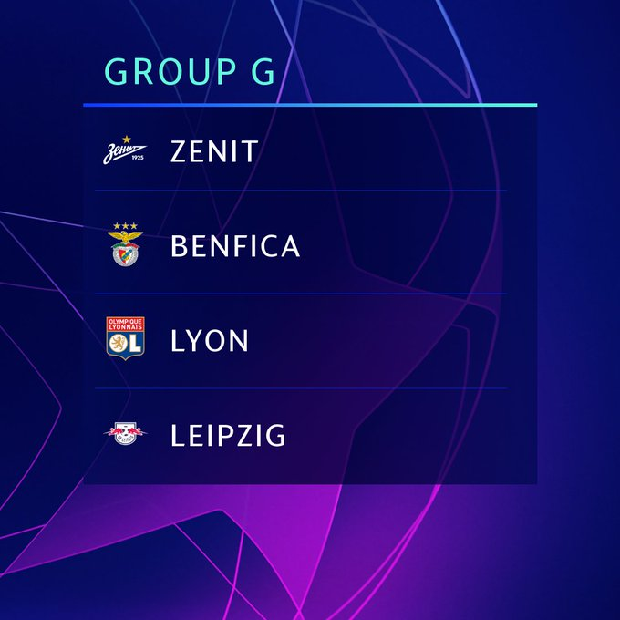 Champions League Group Stage 2020: 2019/2020 CL Group G: Zenit