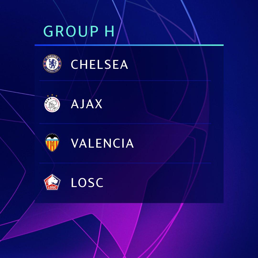 Champions League 2019/20 | Group H EDJ2RDOWkAURkaR