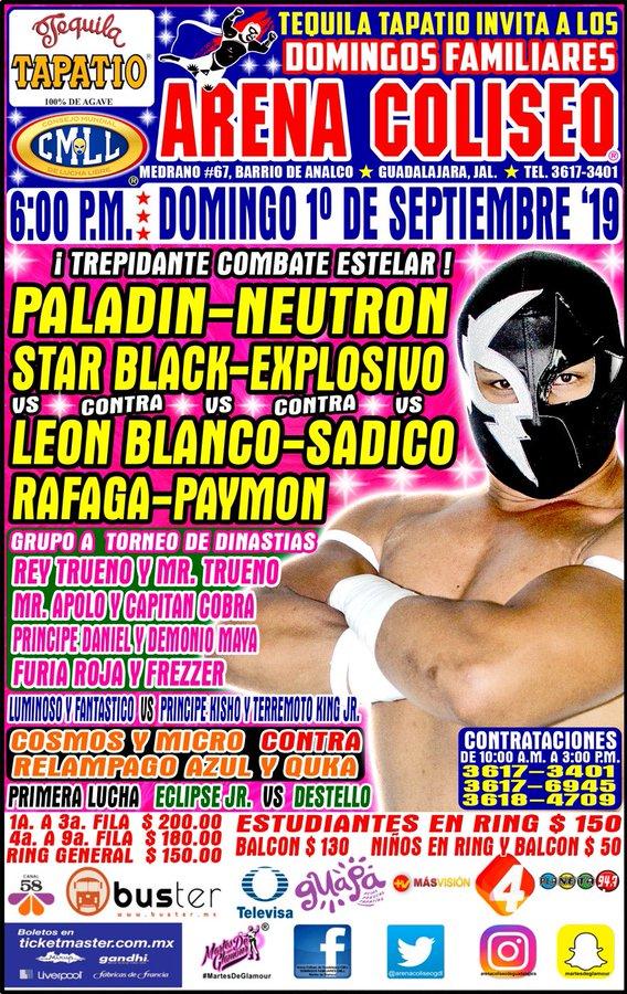 Una mirada semanal al CMLL (del 22 al 28 de agosto de 2019) 10
